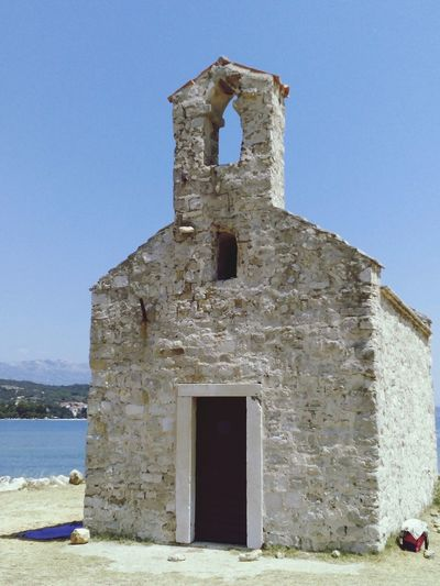 Santuario Anime Blue Sea Sky Sole Blue Sky Paesaggimozzafiato Chiesa