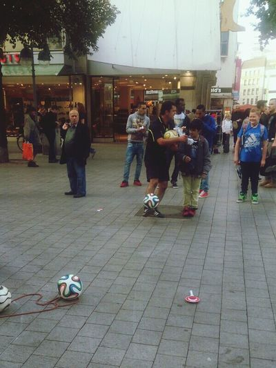 Citylife Hannover Football Artist Today