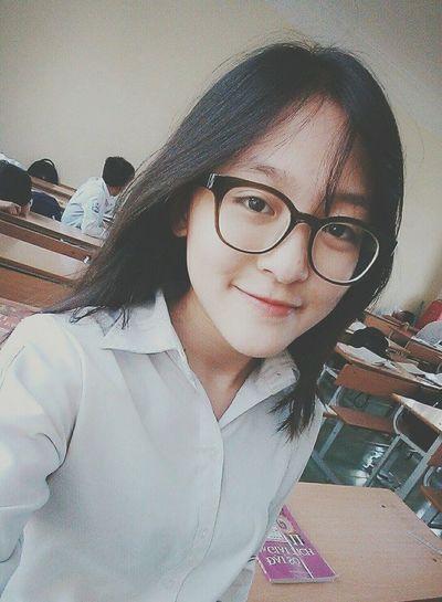 Selfie ✌ Before Class Today C: Vietnamesegirl Vietnamesestudent