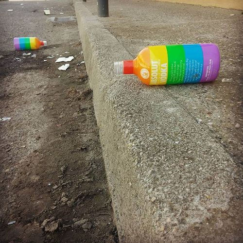 Lleida Partyisover Thatwasgood Lgbt Rainbow ABSOLUT Vodka Street