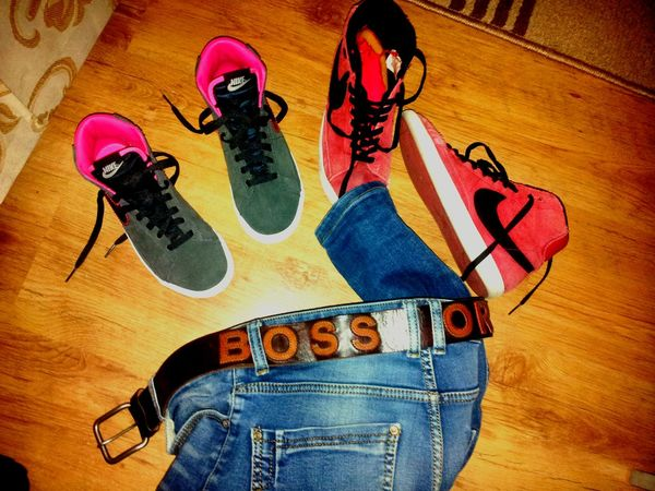 Time to say Goodnight EyeEm Badtime Goodnight ♡ Boys Will Be Boys Like A Boss Nike✔ Trainers ❤ Hugo Boss Original Check This Out