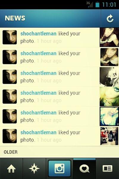 getting love on instagram...