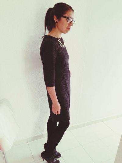 That's Me Little Black Dress Blackandwhite Dress