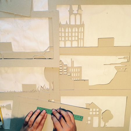Craft, me working with my hands Craft Craft Work Craft Art Papercraft Papercutting Papercut Paper Art Paper Artist Paper Theatre Stage Paper Scene Paper Paper Stage That's Me Cutting Cutting Boards Art ArtWork Art, Drawing, Creativity Art And Craft