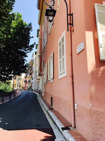 Monaco Architecture Building Exterior Built Structure Window Day Transportation The Way Forward Car No People Road Outdoors Land Vehicle Tree Sky City