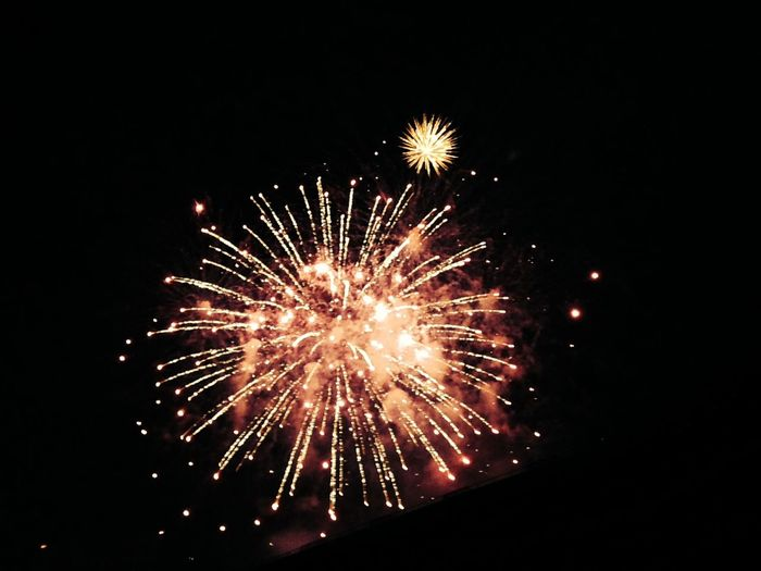 Fireworks Sparkly Sparkle Light Up Your Life Night Sky Oakland A's Game Oakland Coliseum