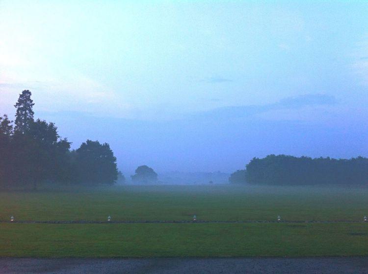 English Countryside Dusk