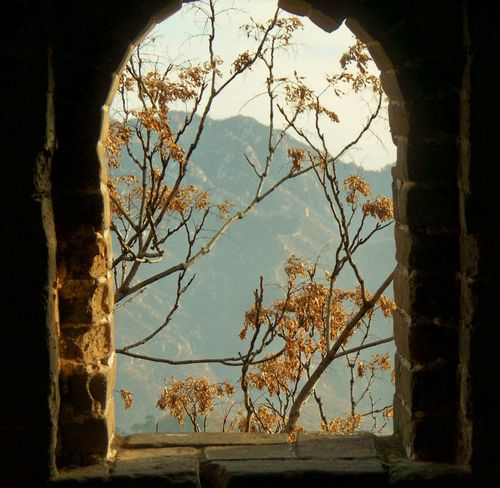 Great Wall Window World Heritage Site Great Wall Of China Tower China History China Beauty Great Wall Of China Textures And Surfaces China 's Charm
