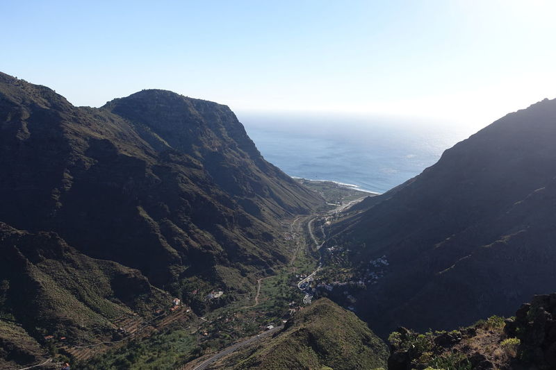 La Gomera Canary Islands Landscape Mountain Nature Outdoors Vacation Destination Vacation Time Valle Gran Rey