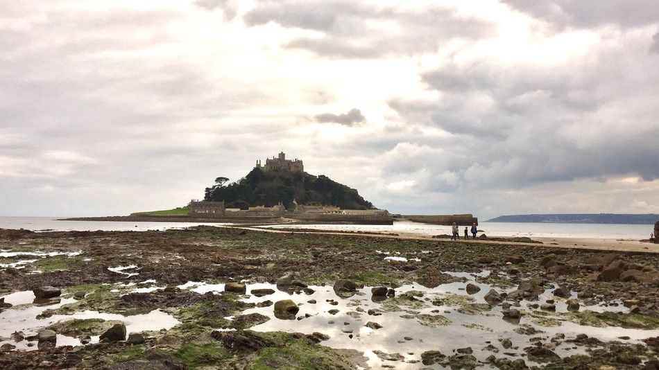 St Micheal's Mount Cornwall Sea Beach Sky St Michaels Mount Marazion