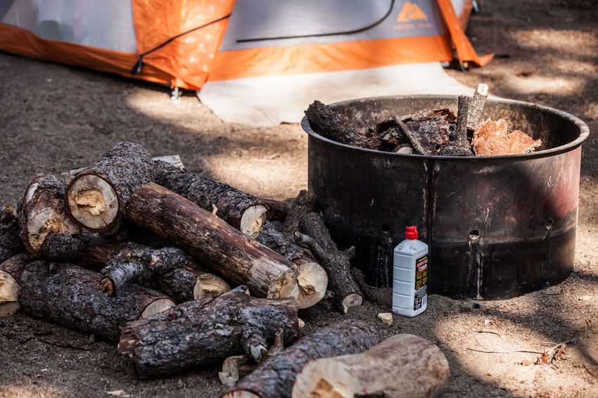 Ash Bonfire Burning Burnt Campfire Camping Camping Stove Coal Container Day Fire Fire - Natural Phenomenon Firewood Flame Heat - Temperature Log Nature No People Outdoors Preparation  Preparing Food Smoke - Physical Structure Wood Wood - Material