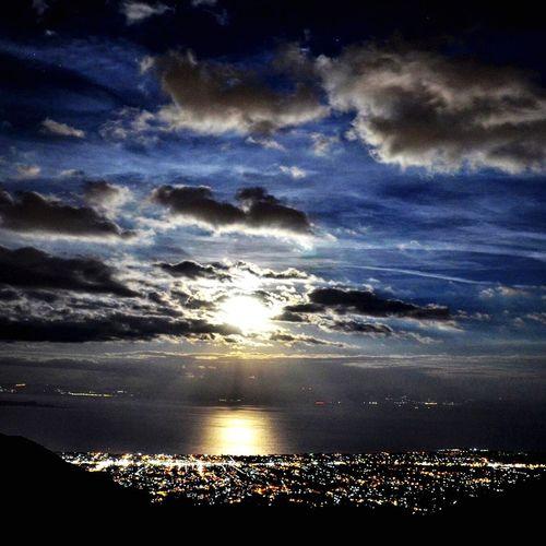 Supermoon2016 Nightphotography Night Lights FoolMoon No People Cloud - Sky Sky