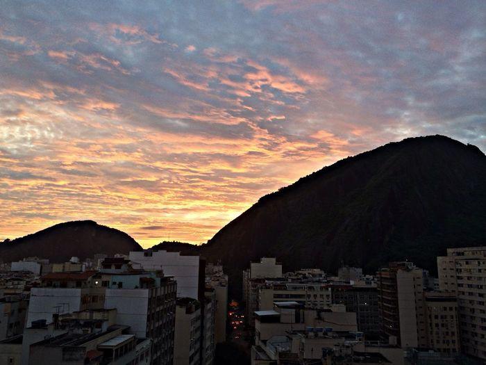 O Rio De Janeiro eh lindo! Sky Sunset Copacabana