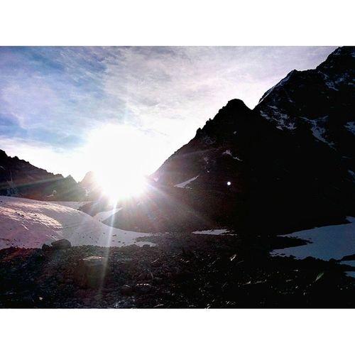 Алтай горы снег томскиеночевки белуха поход лето