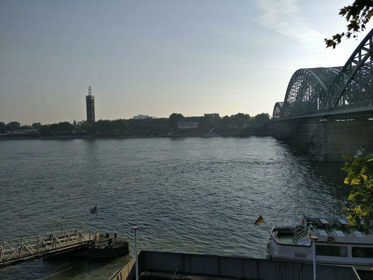 Cologne Köln Photokina Hohenzollernbrücke Hohenzollernbridge