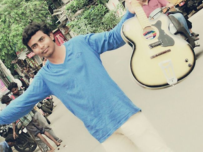 hearing music is simple but rocks the music is hard...Iam always rocks becouse i love music... At Home Sweet Home