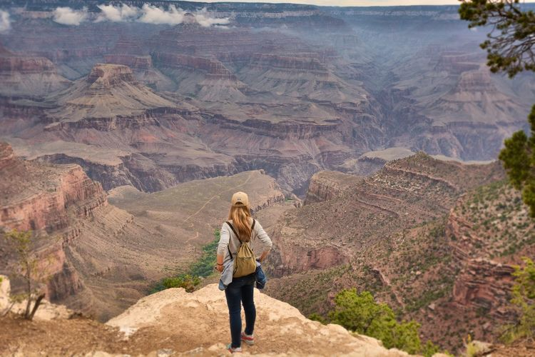 Arizona Travel Photography Famous Place USA An Eye For Travel Grand Canyon OpenEdit Hiking Mountain Walking Adventure People Outdoors Landscape Exploration Scenics Beauty In Nature Travel Destinations Go Higher