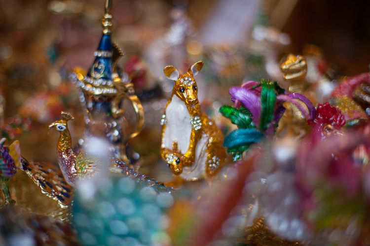 Gilded figurines