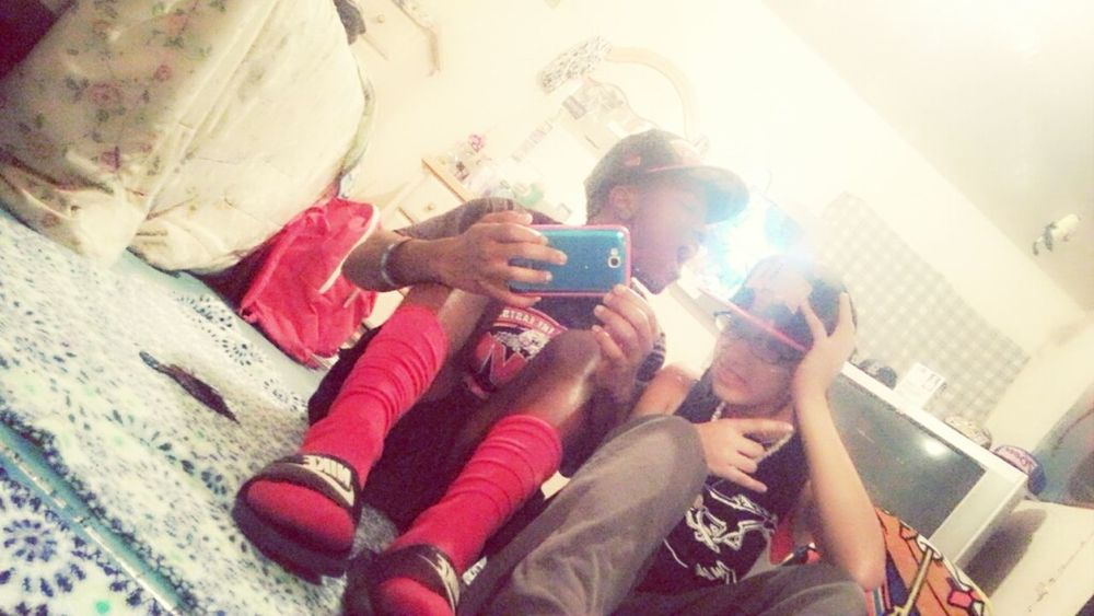 -me & my sister- :) #ILoveYou #ThisNigger ♥