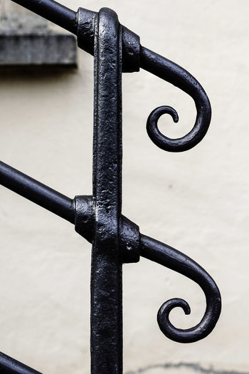 Banisters Close-up Contrasting Colors Day Hell Und Dunkel Iron - Metal Metal No People Outdoors Steetphoto