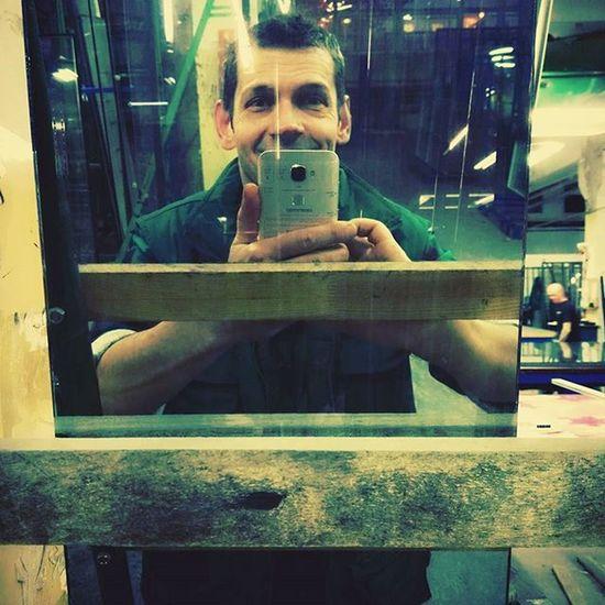 Work Selfie Smile Green Mirror Me Huwawei Huwaweipics