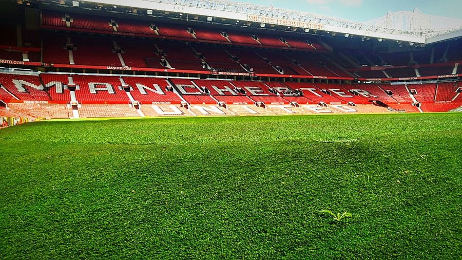 Pitch-Ready prior to United vs Hotspurs home game. EyeEmNewHere Manchester Football Respect Manunited  Glory Feelgood Kickoff Teampixel Pixel2 Oldtrafford Exposure Gameoflife Gameoflights EyeEm Best Shots EyeEm Selects EyeEm Gallery Eye4photography  Contrast Sports Team Soccer Field Stadium Sport Playing Field Team Sport Soccer Floodlit Goal