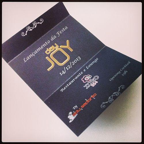 E sábado dia 14 tem lançamento da festa DAY JOY!!! Projeto do meu amigo @ricardomagryino !!! Sucesso rapa! Convites a venda! Dayjoy Party