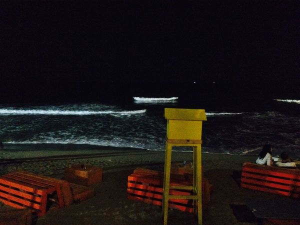 Waves Alexandria Egypt Alexandria Sea Water Night Nature Outdoors Beach No People Beauty In Nature Sky