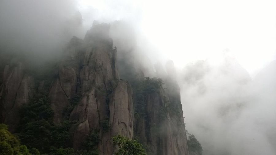 Wonderful hiking in Sanqing Mountain Mysterious Landscape Unpredictableweather Beauty In Nature No Edit/no Filter