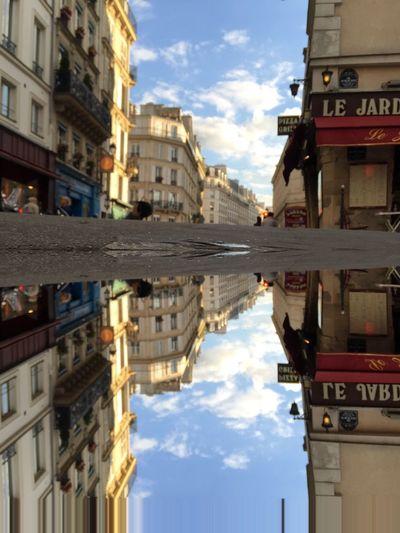 Le Marais Paris Reflection IPhoneography France