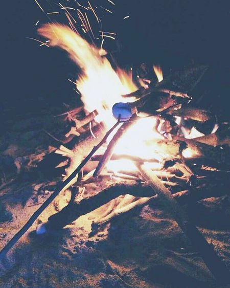 Smores under the milky way First Eyeem Photo