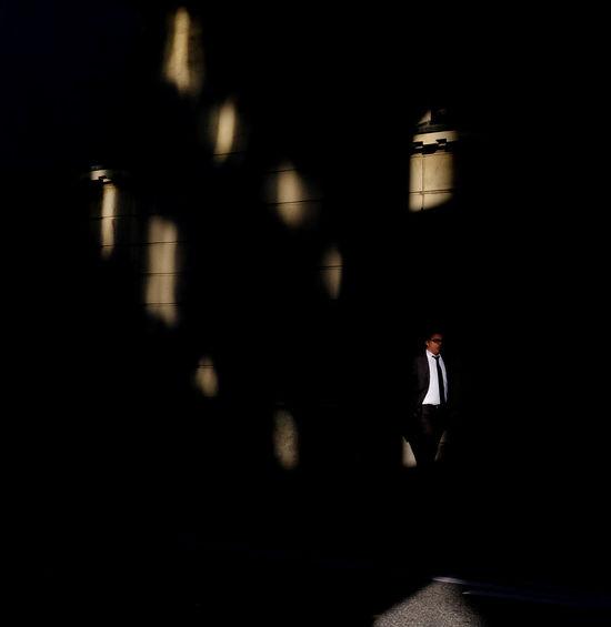 City Life Daylight Light Lugano Lugano, Switzerland One Person People Shade Street Streetphotography Switzerland