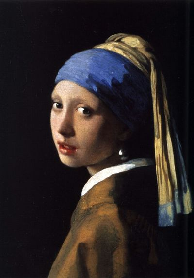 The Girl With The Pearl Earring, Vermeer, Johannes, ~1665, oil on canvas, 45 × 40 cm , Mauritshuis in The Hague Painting Girl Awesome People And Art Artist Fine Art Photography Ergsap Vermeer Ergsart Fine-art Art