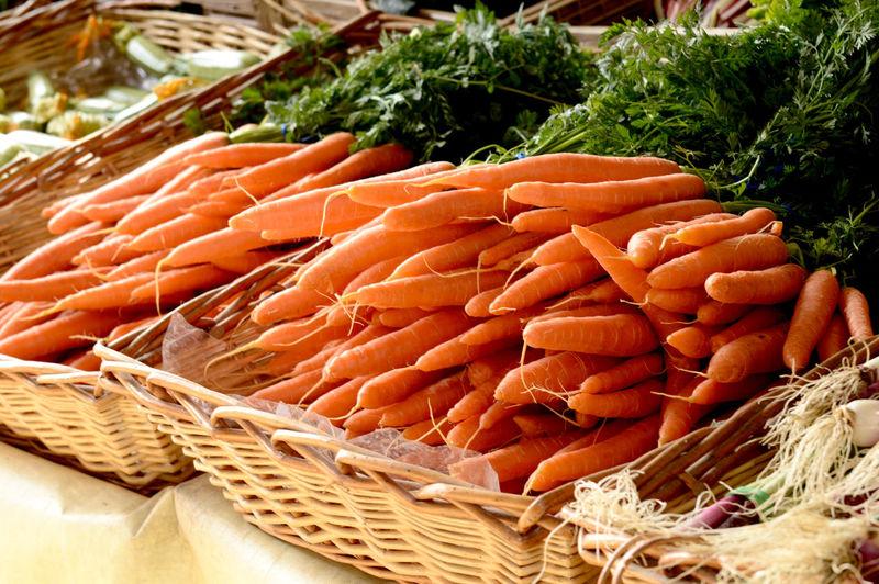 Carots Carrot Food Food And Drink Freshness Market No People Orange Color Orange Fruits Root Vegetable Still Life Vegetable Vegetable Garden