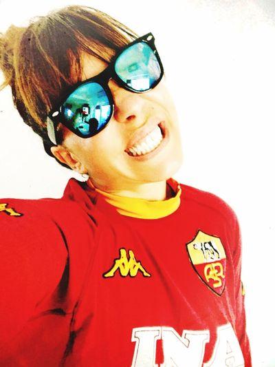 Ansia.. Forza Roma❤️💛 Smorfie #roma Derby #ansia Daje Giallorosso