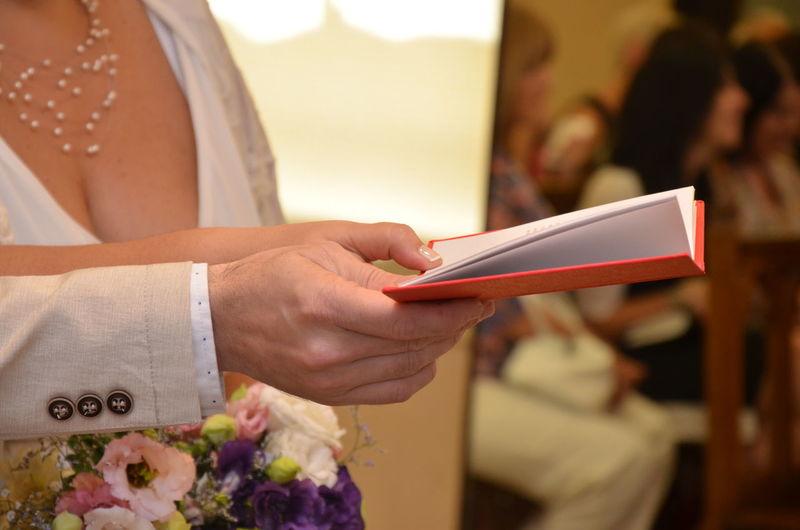 Couple at wedding