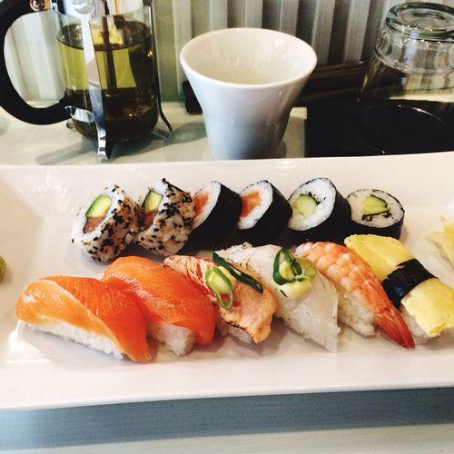 Keep calm and eat more sushi! Sushilover Turkufinland Japanesesushi MysushiDate Foodporneurope Hanko Balticcruiseatfredolsen