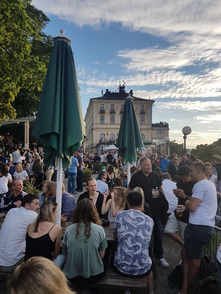 Large Group Of People Crowd Music Adult People Adults Only Stage - Performance Space Leisure Activity Real People Outdoors Sky Beer Beer Time At The Pub Beer - Alcohol Beer O'clock Refreshment Beerlover