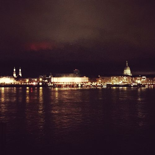 Mainz at night