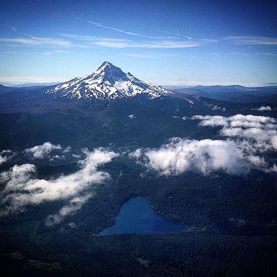 Landing Oregon Planeride Pdx scenery