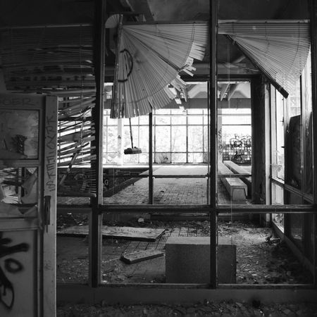 Still life Still Life Abandoned Light And Shadow Urban Decay Streetphotography Abandoned Buildings Abandoned Places Eye4photography  Vanishing Point Blackandwhite Broken Broken Window Ruinenlust