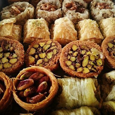 Pâtisseries orientales Istambul Pastries Food Dessert Yummy Turquie