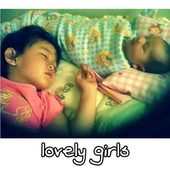 Lovely girls. ChaCha and RaRa  .