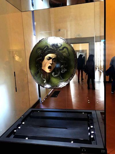 Medusa Head Uffizi Museum Florence Italy