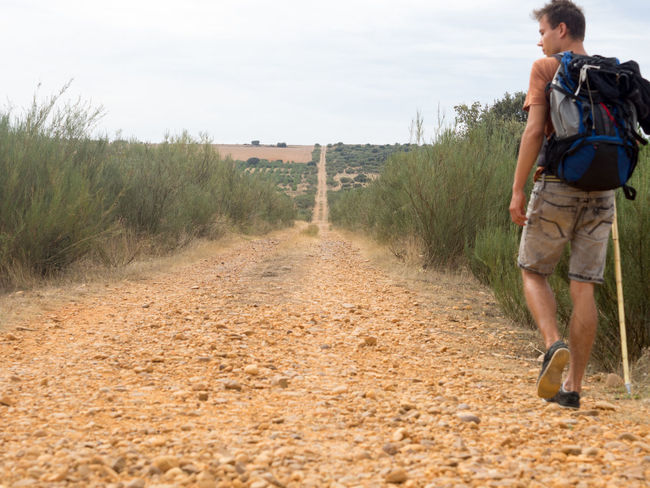 Camino De Santiago Hiking Jakobsweg Leisure Activity Pilgrimage Spanien Teen The Way Forward Travel Photography Traveling Young Adult