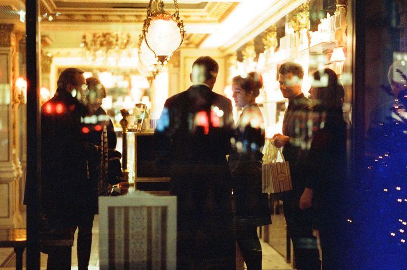 Nikon F4 35mm City Life Nightphotography Cinestill800t Filmphotography Illuminated Night Streetphotography