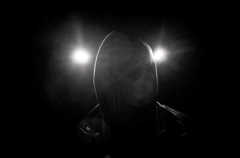 Dark Indoors  Black Background Mask Mask_collection Video Shoot Deutschrap Lost Places In Berlin Weißensee Lights Out Lights On Raw Grotesk EyeEm Portraits Doom Doomsday Bnw_collection Light Headshot Ghost Horror Portrait