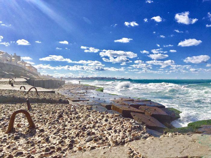 Sea Beach Sky Nature Horizon Over Water Water Day Sunlight No People Outdoors Cloud - Sky first eyeem photo