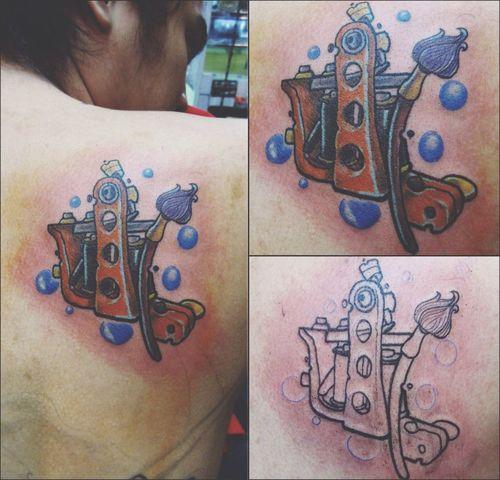Seacon Square ศรีนครินทร์ โซนคลองถม ชั้น3 เสาH8. Line: goldentattoo. Tattooshop CoilMachine Tattoomachine