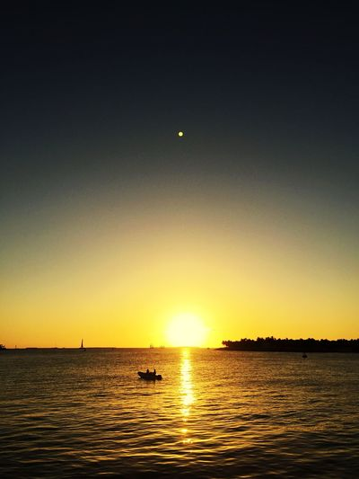 Sunset at Mallory Square in Key West, Florida 🌞 Sunset Mallory Square Key West Florida